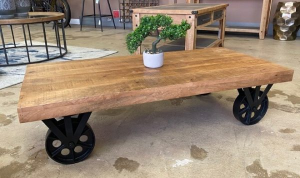 Four Corners Trolley Coffee Table CT31