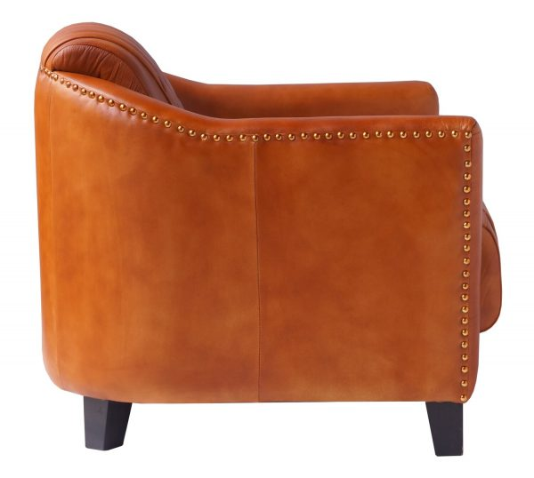 Four Corners Full leather chair