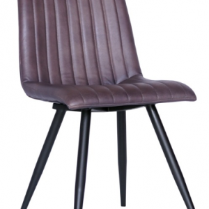 Four Corners Full Leather Dining Victor Chair