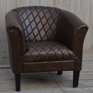 Four Corners Full leather chair CH18