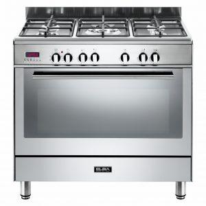 Elba 90cm Fusion Gas Electric Cooker