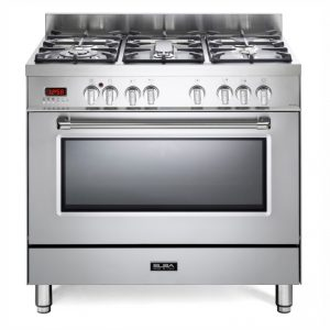 Elba 90cm Excellence Gas Electric Cooker Stainless Steel