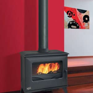 Godin Cube 6.5 kW Freestanding Fireplace Black