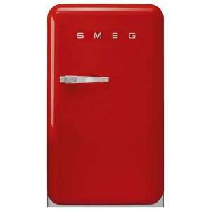 Smeg 50's Style Bar Refrigerator Red FAB10HRRD2
